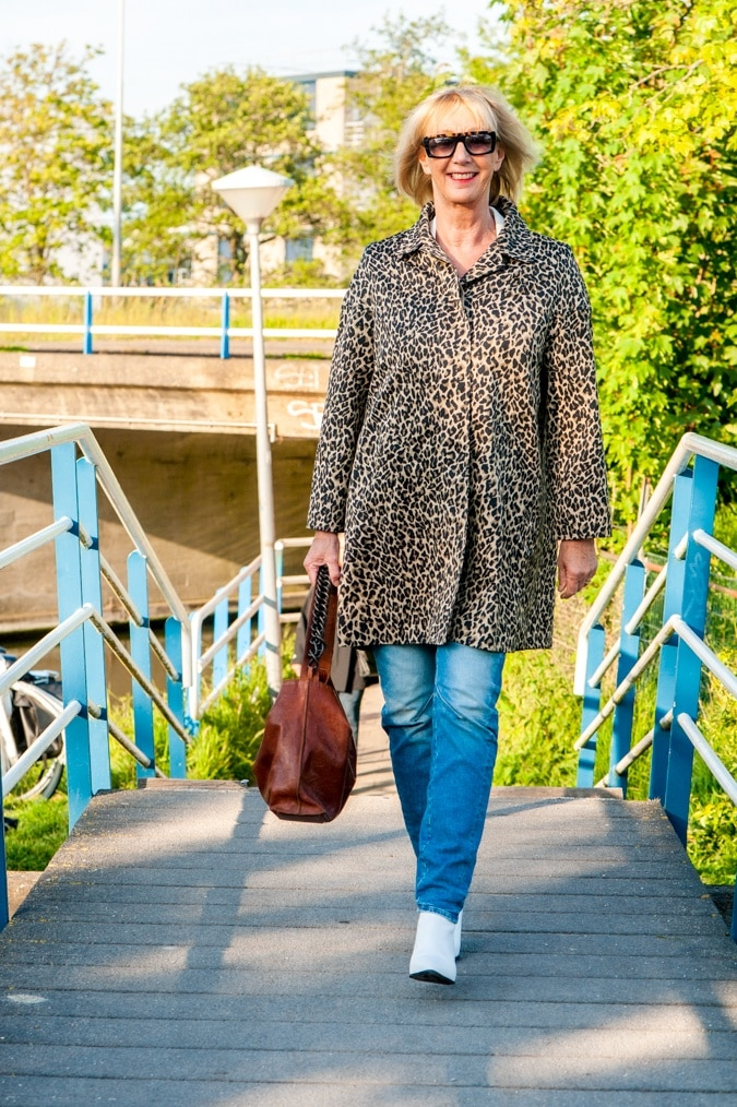Leopard summer coat by Weekend Max Mara