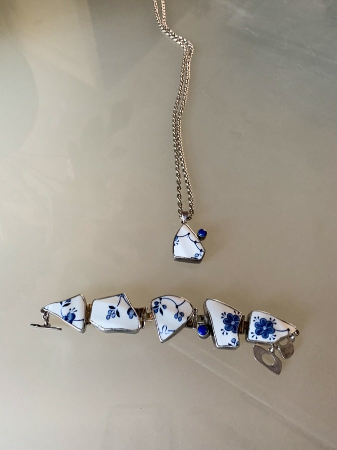 Delft Blue jewellery