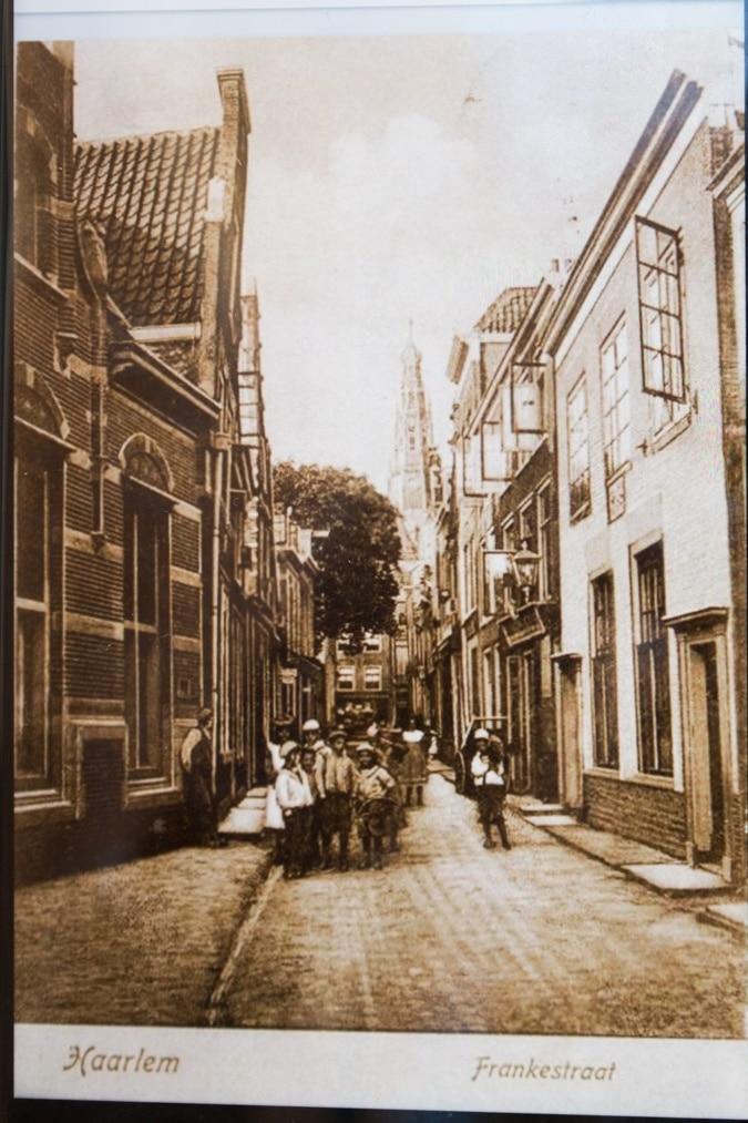 Haarlem Frankestraat in the old days