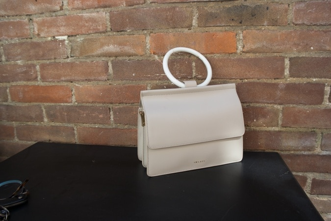 light grey bag