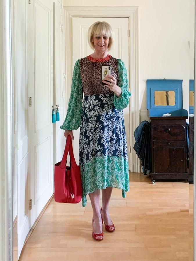 Outfit Monday RIXO London dress to mum's birthday