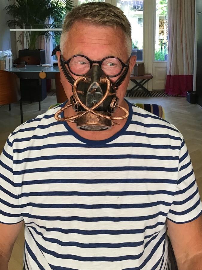 Ron steampunk mask