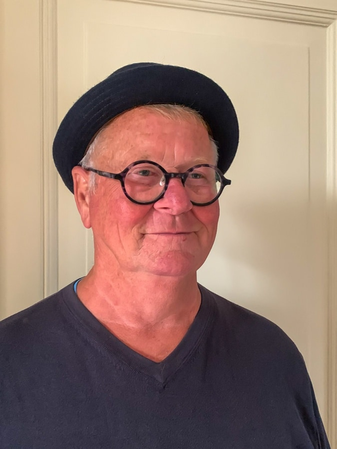 Ron with hat