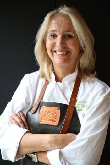 Bernadette, cook at IZ Amsterdam Flavours
