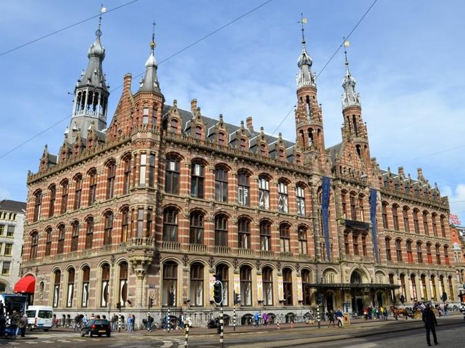 Former post office Amsterdam Magna Plaza