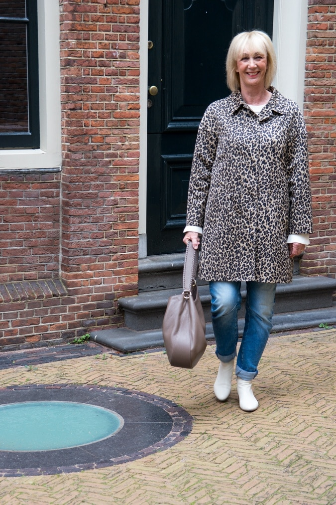 Weekend Max leopard summer coat
