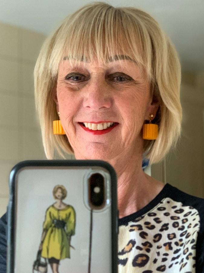 Ochre earrings