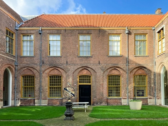 Town hall courtyard Haarlem