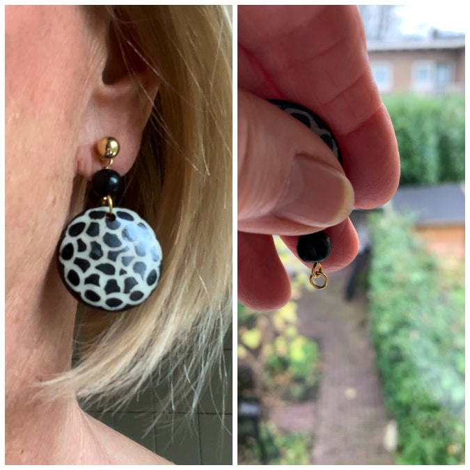 use of earring links