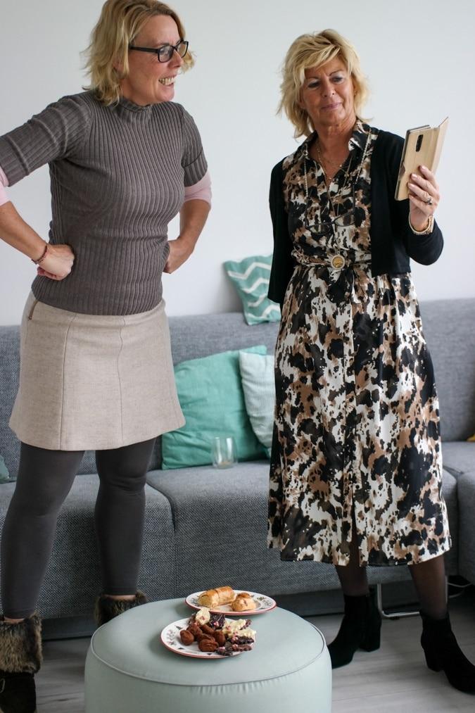 Claudia and Marijke