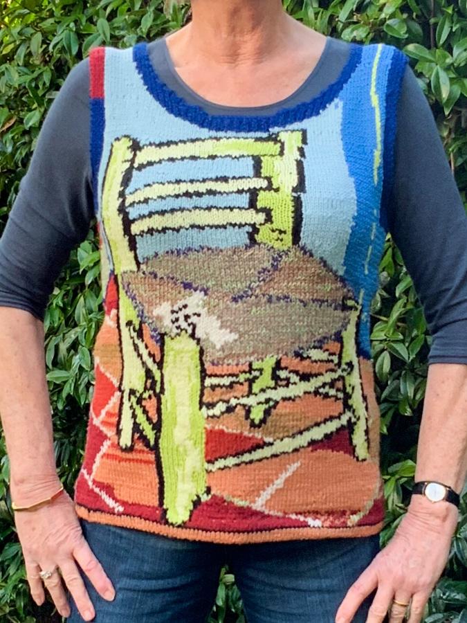 Vincent van Gogh knitted spencer