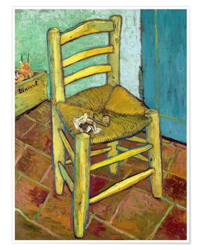 Chair bedroom Vincent van Gogh