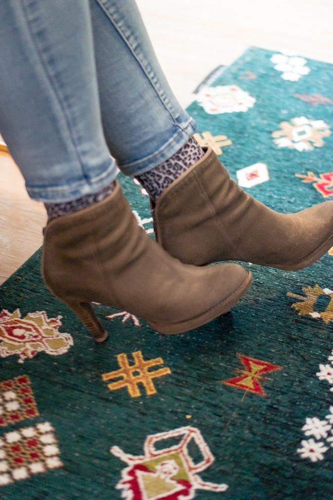 Jilske's boots and socks