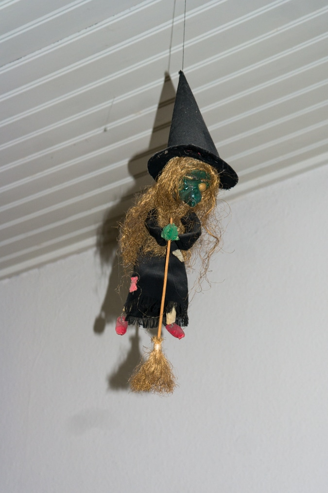 Witch from the ceiling