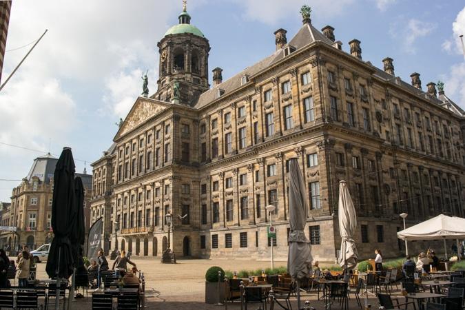Royal Palace, Dam, Amsterdam