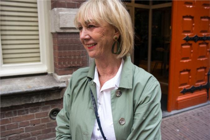 Green earrings Lara Design (.nl)
