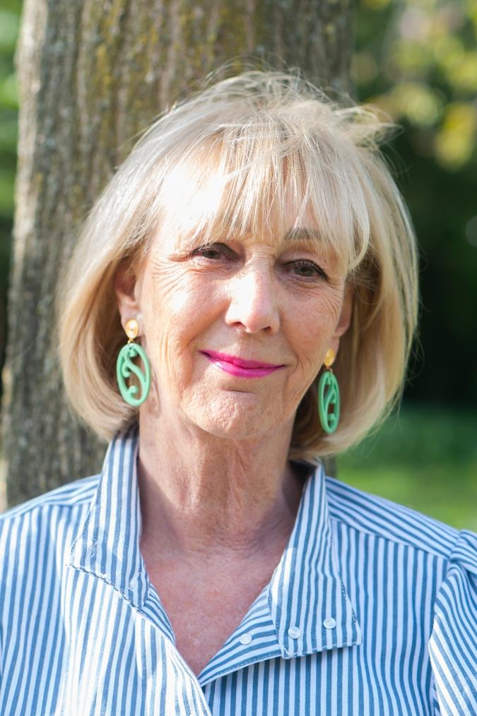 Mint green earrings by Lara Design