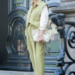 An atypical trouser suit