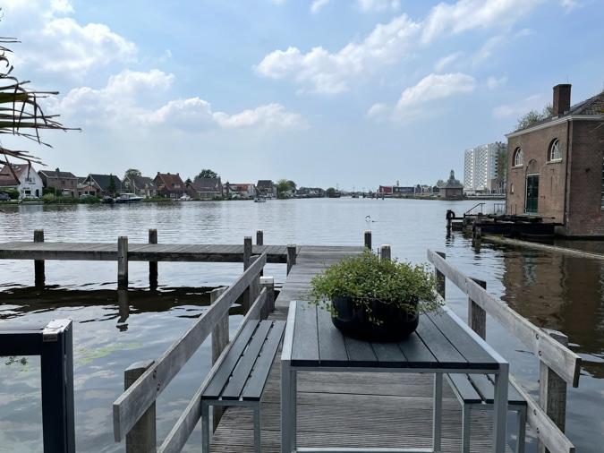 View on the river at Het Gemaal Halfweg