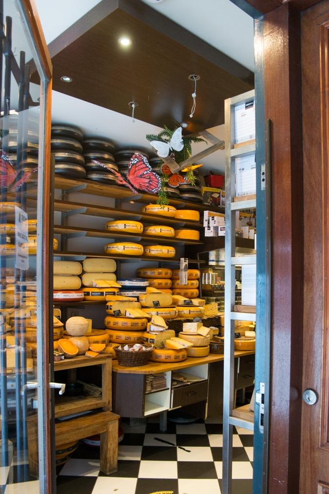 Cheese store Amsterdam