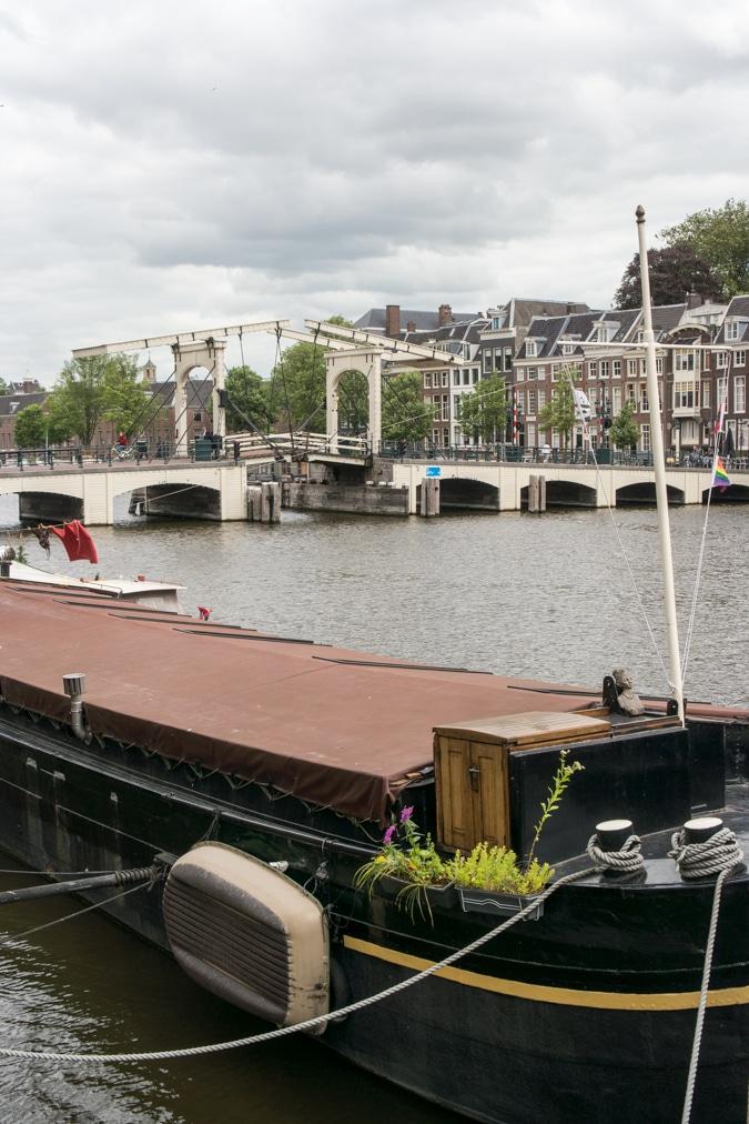 magere brug / skinny bridge Amsterdam