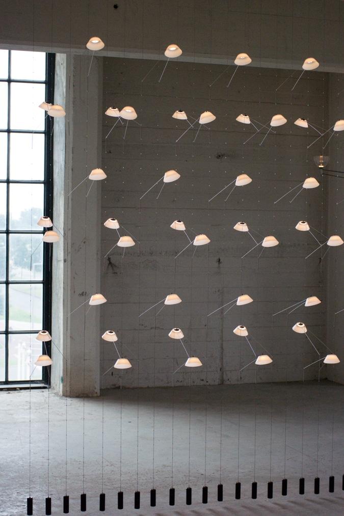 wall of light by VANTOT