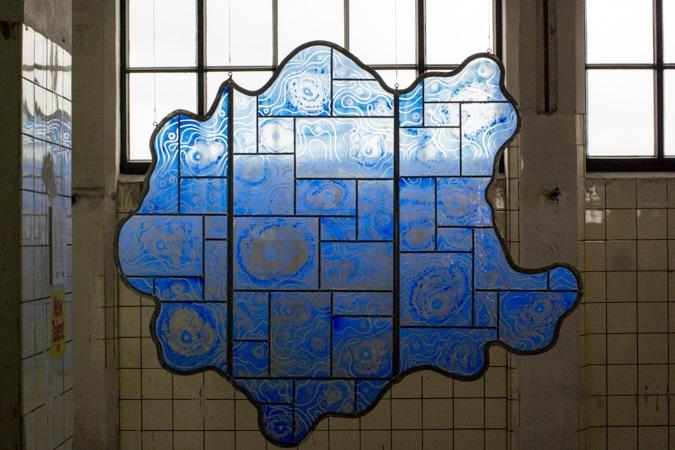 Stained glass by Atelier Emski