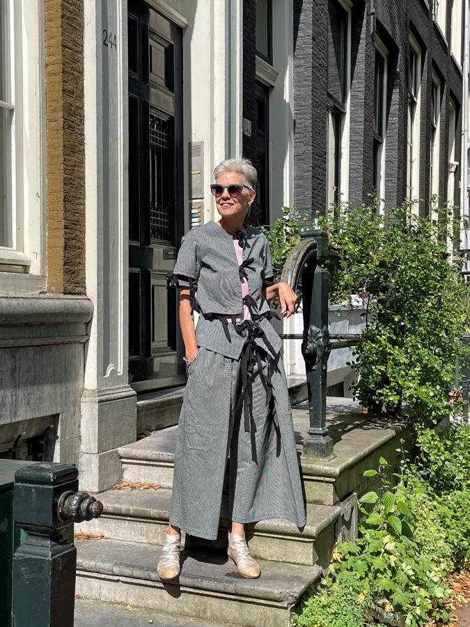 Sylvia in Amsterdam
