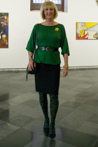 Green fantasy tights